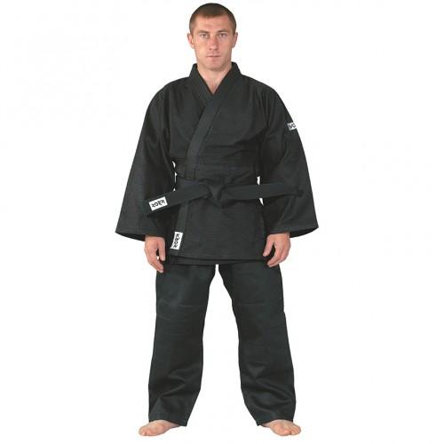 Kimono aikido negru bob de orez