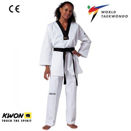 dobok taekwondo WT Kwon Victorii competitie