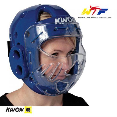 casca taekwondo WTF cu masca