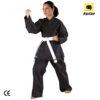 kimono karate negru Kwon