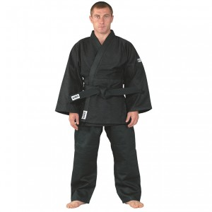 Kimono aikido KWON J650 negru bob de orez