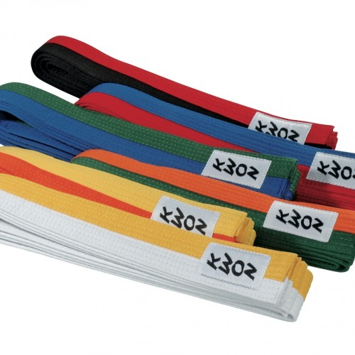 centuri bicolore taekwondo