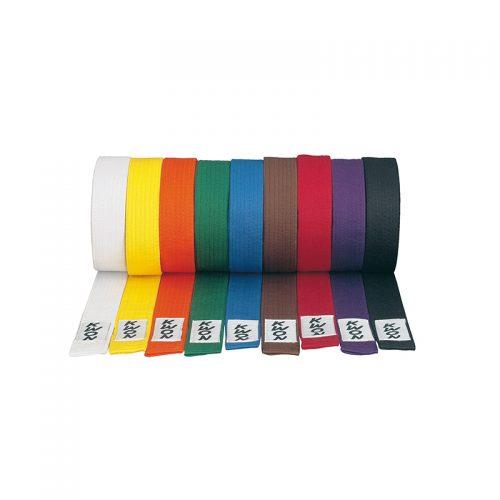 centuri taekwondo colorate