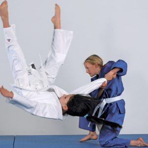 kimono judo albastru copii