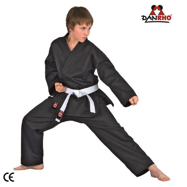 kimono karate negru shotokan Danrho