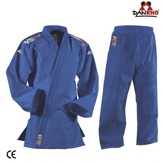 kimono judo albastru